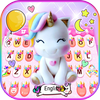 Chủ Đề Bàn Phím Rainbow Unicorn Smile biểu tượng