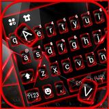 Red Tech Keyboard Theme