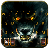 Scary Evil Wolf icon