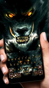 Scary Evil Wolf poster
