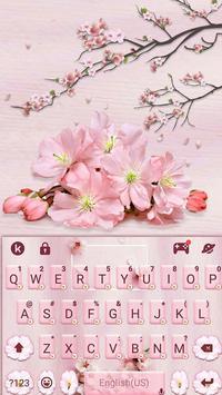 Chủ Đề Bàn Phím Sakura Floral ảnh chụp màn hình 4