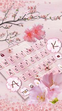 Chủ Đề Bàn Phím Sakura Floral ảnh chụp màn hình 1