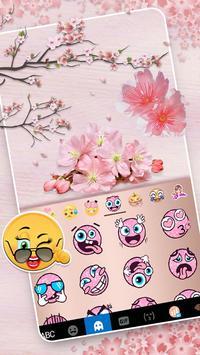 Chủ Đề Bàn Phím Sakura Floral ảnh chụp màn hình 2