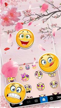 Chủ Đề Bàn Phím Sakura Floral ảnh chụp màn hình 3