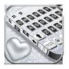Klawiatura motywów Silvery Glitter ikona