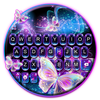 Sparkle Neon Butterfly-icoon