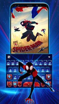 Tema Keyboard Spider-man: Spiderverse Cartaz