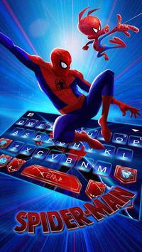 Tema Keyboard Spider-man: Spiderverse imagem de tela 1