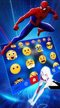 Tema Keyboard Spider-man: Spiderverse imagem de tela 3