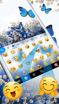 Spring Blue Butterfly screenshot 1