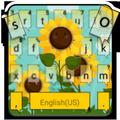 Sunflower Field Keyboard Theme