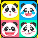 Cute Panda Emoji Stickers - Add to Chats App Free APK