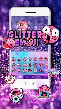 Glitter Emoji постер