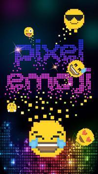 Pixel Emoji poster