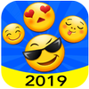 New 2019 Emoji for Chatting Apps (Add Stickers) 아이콘