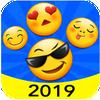 New 2019 Emoji for Chatting Apps (Add Stickers) icono