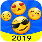 New 2019 Emoji for Chatting Apps (Add Stickers) icon