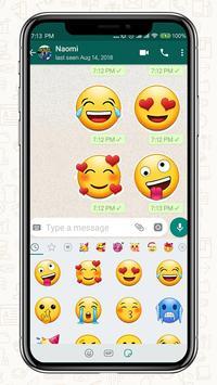 New 2019 Emoji for Chatting Apps (Add Stickers) скриншот 1