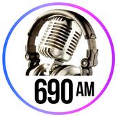 Radio 690 am radio station am radio online free icon