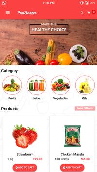 ProBasket - Online Grocery Store And Much More. screenshot 3