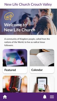 New Life Church Crouch Valley poster