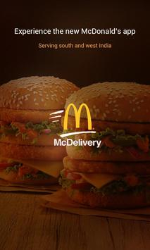 McDelivery poster