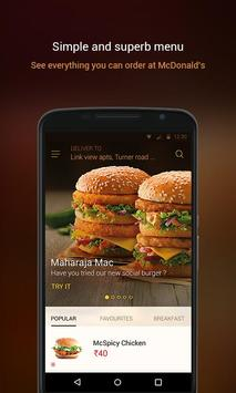 McDelivery screenshot 1