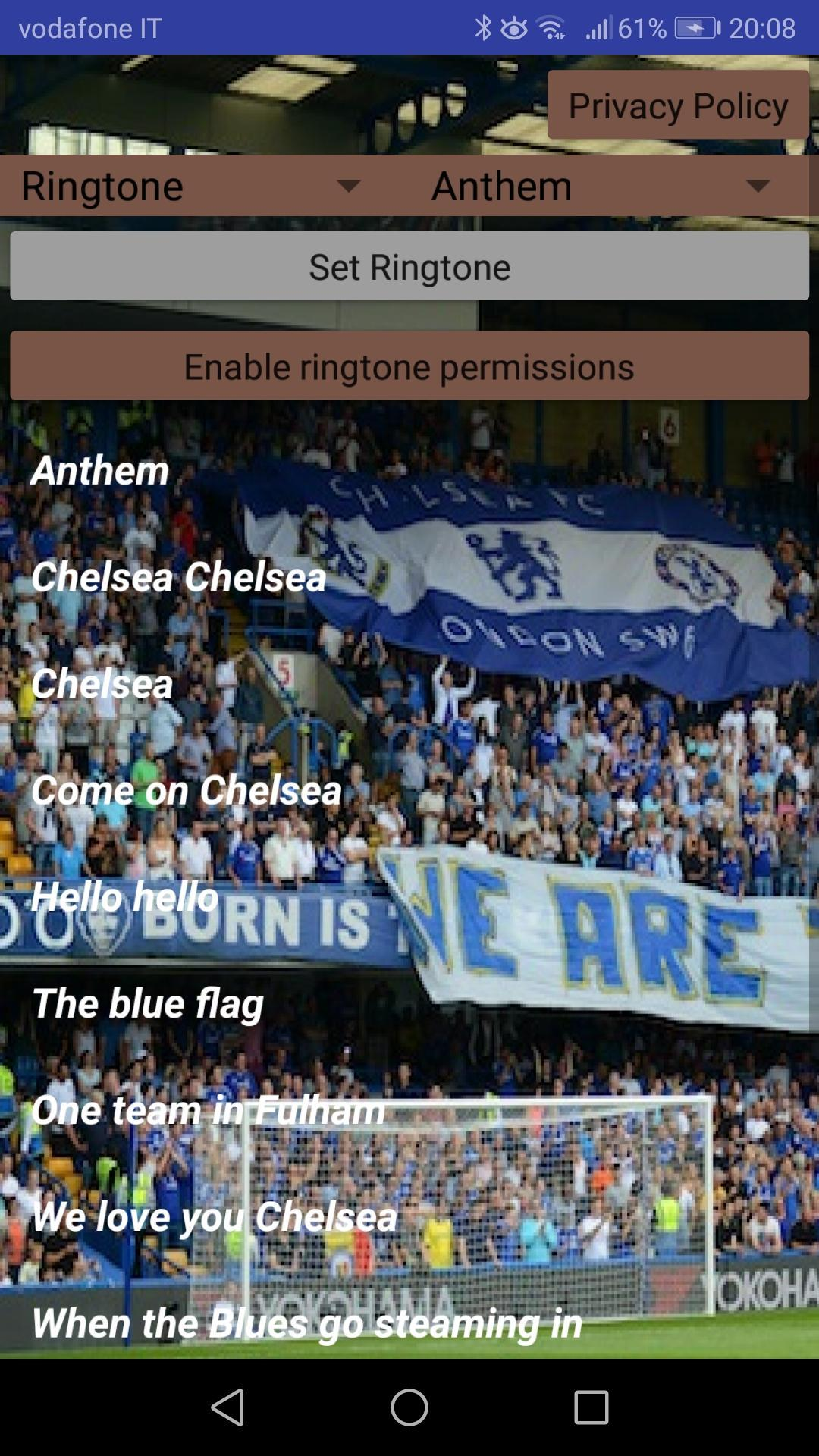 Chorus of Chelsea Fans for Android - APK Download