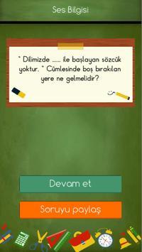 3 Schermata 3. Sınıflar Türkçe Testleri
