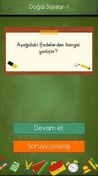 1. Sınıflar Matematik Testleri screenshot 3