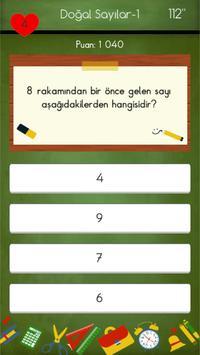 1. Sınıflar Matematik Testleri screenshot 4