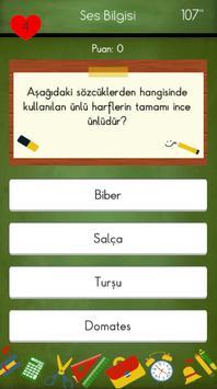 4. Sınıflar Türkçe Testleri 截图 16