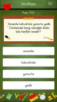 4. Sınıflar Türkçe Testleri 截图 11