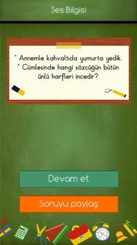 4. Sınıflar Türkçe Testleri 截图 5