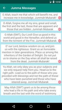 Jumma Messages screenshot 1