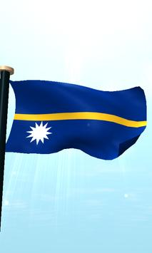 Nauru Flag 3D Free Wallpaper screenshot 4