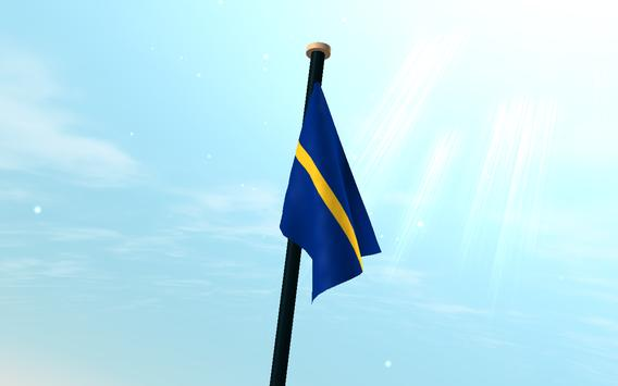 Nauru Flag 3D Free Wallpaper screenshot 7