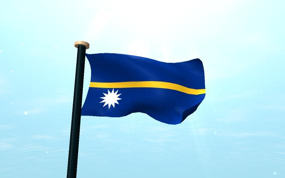 Nauru Flag 3D Free Wallpaper screenshot 9