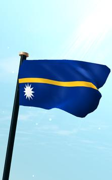 Nauru Flag 3D Free Wallpaper screenshot 10