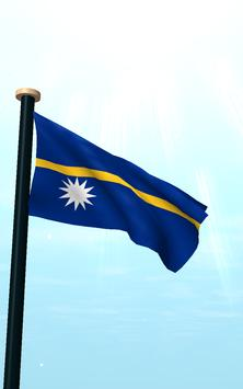 Nauru Flag 3D Free Wallpaper screenshot 11