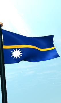 Nauru Flag 3D Free Wallpaper screenshot 3