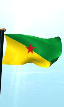 French Guiana Flag 3D Free screenshot 4