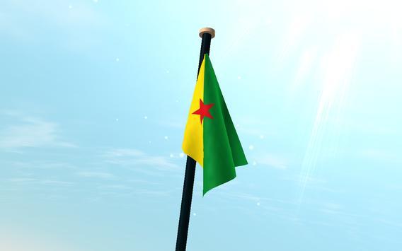 French Guiana Flag 3D Free screenshot 7