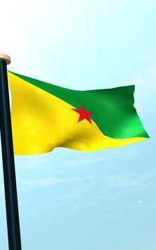 French Guiana Flag 3D Free screenshot 13