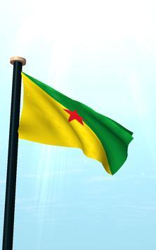 French Guiana Flag 3D Free screenshot 11