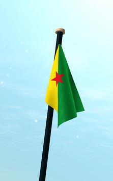 French Guiana Flag 3D Free screenshot 12