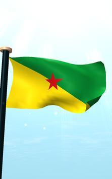 French Guiana Flag 3D Free screenshot 14