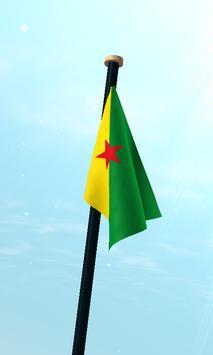 French Guiana Flag 3D Free screenshot 2