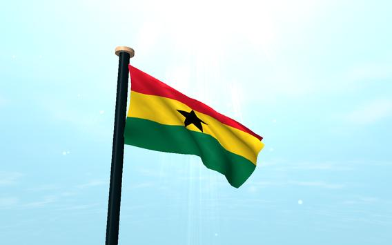 Ghana Flag 3D Free Wallpaper screenshot 6