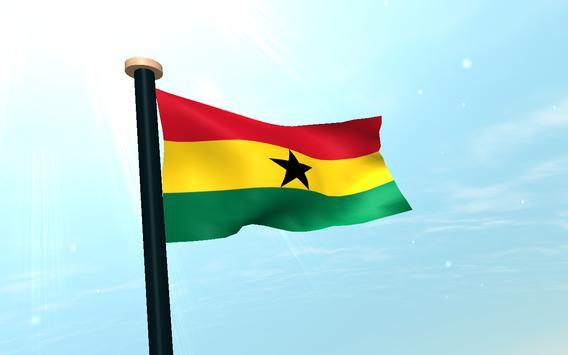 Ghana Flag 3D Free Wallpaper screenshot 8